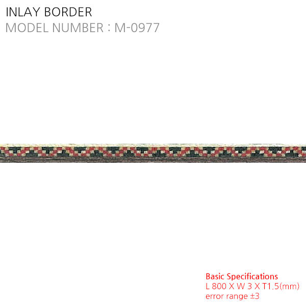 INLAY BORDER M-0977