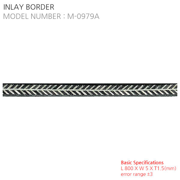 INLAY BORDER M-0979A