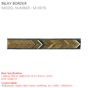 INLAY BORDER M-0976