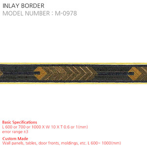 INLAY BORDER M-0978