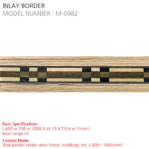 INLAY BORDER M-0982
