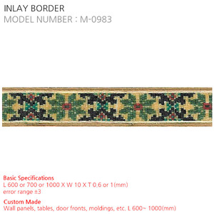 INLAY BORDER M-0983