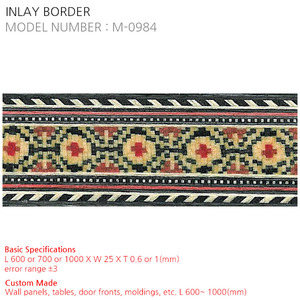 INLAY BORDER M-0984