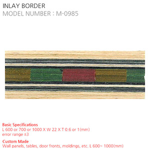INLAY BORDER M-0985