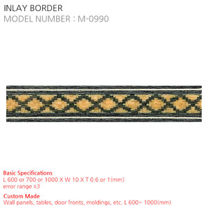 INLAY BORDER M-0990