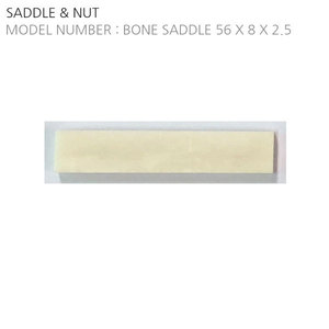 BONE SADDLE SELF DESIGN (56X8X2.5)