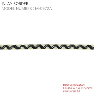 INLAY BORDER M-0972A