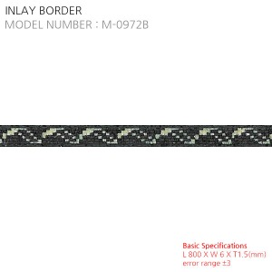 INLAY BORDER  M-0972B