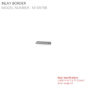 INLAY BORDER M-0979B